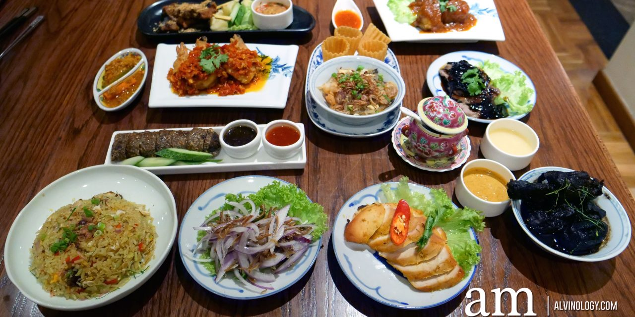 Enjoy a Peranakan Buffet Feast this Christmas at INDOCAFE – The White House