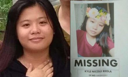 P20,000 reward for finding missing teenager Kyle Nicole Reola in the Philippines