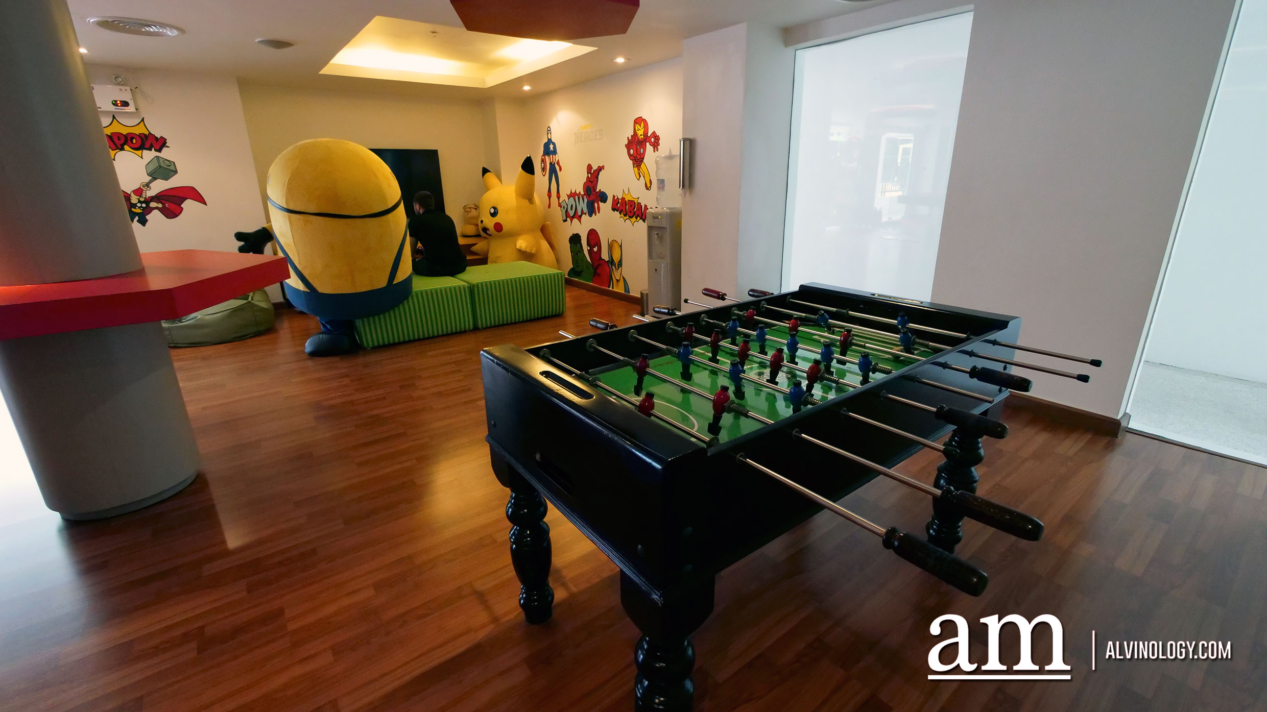 Free table football and Playstation games