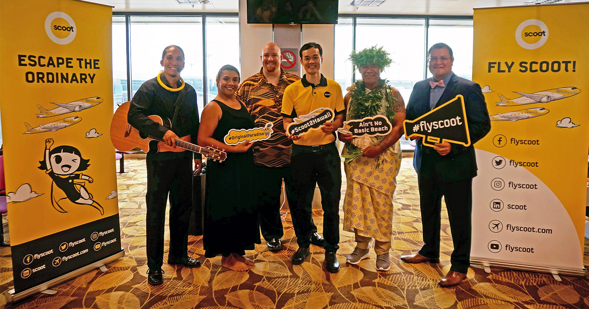 Scoot Launches Singapore To Honolulu Flight - Alvinology