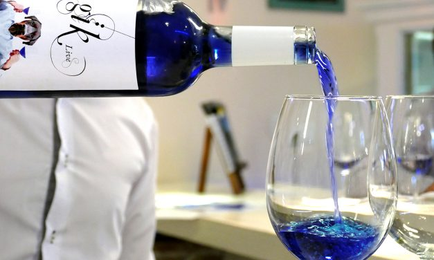 Gïk is the newest blue-colored wine on the scene