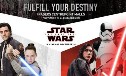 STAR WARS Celebrates Christmas at Frasers Centrepoint Malls