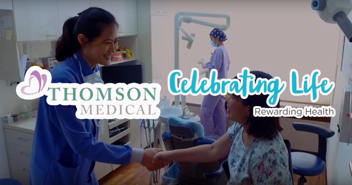 Singapore's First Healthcare Loyalty Programme by Thomson Medical Group