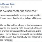 All bloggers banned from this hotel because of negative reviews they did not expect