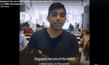CNBC: Singapore is the world's 2nd lowest in crime rate. You can leave your belongings in public places.