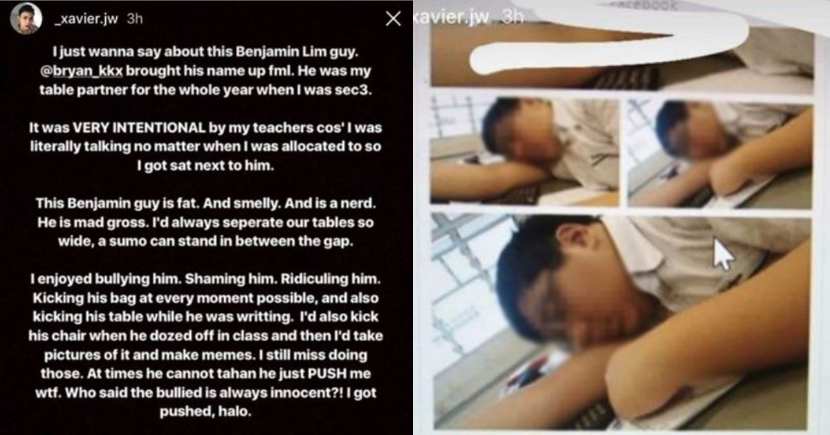 This guy bullies his fat seatmate and takes pride in it