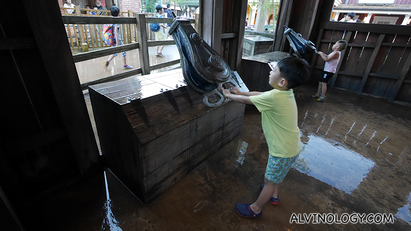 Wild Wet at Grizzly Gulch where kids can get wild and wet
