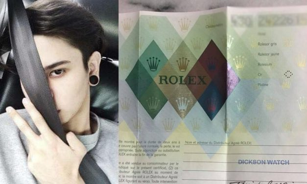 Singapore influencer accused of swapping an original Rolex watch with a fake