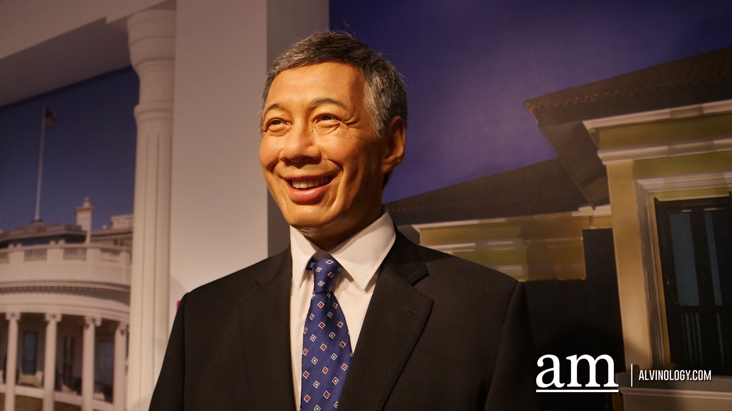 Singapore's third and current prime minister, Lee Hsien Loong