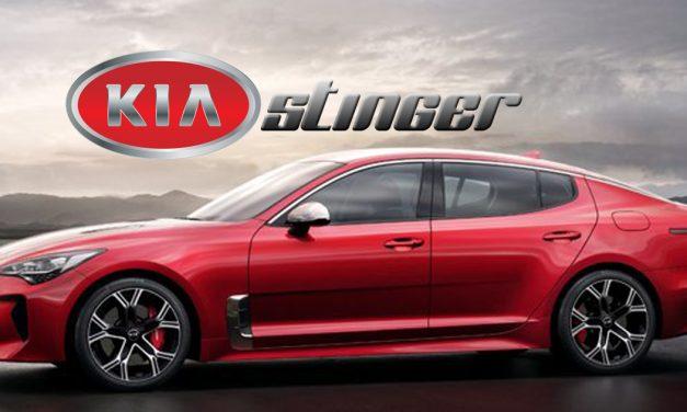Kia Stinger – fastest rear-driven gran turismo sports sedan
