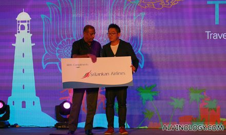 Alvinology wins Best Airline Blog at the TBC Asia Travel Blogger Awards
