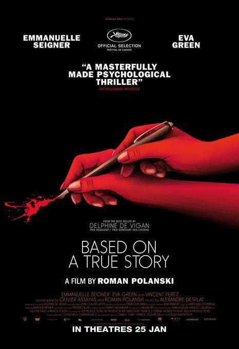 [Movie Review] Roman Polanski's Based on A True Story - Alvinology