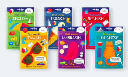 Lonely Planet Kids First Words releases three new books in Italian, Japanese, and Mandarin