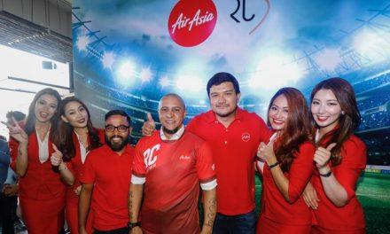AirAsia introduces Roberto Carlos as their New Global Ambassador
