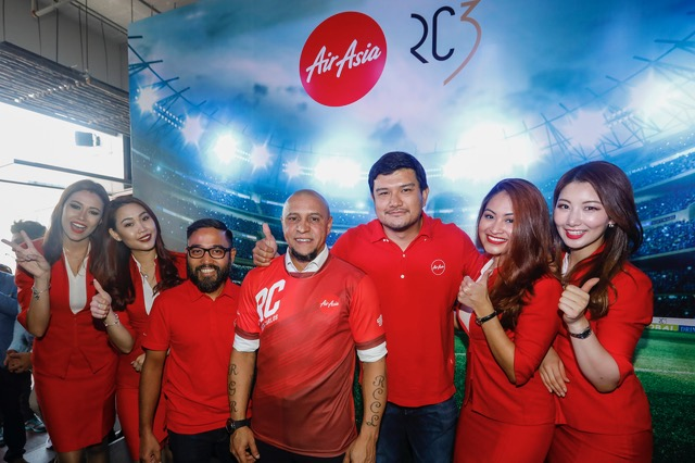 AirAsia introduces Roberto Carlos as their New Global Ambassador - Alvinology