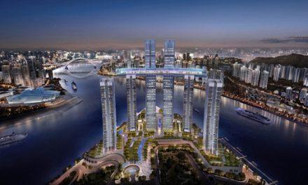 Raffles City Chongqing holds title for World's Highest Horizontal Skyscraper