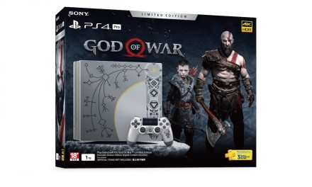 PlayStation 4 Pro God of War Limited Edition Console to be Available in April 2018 for $669