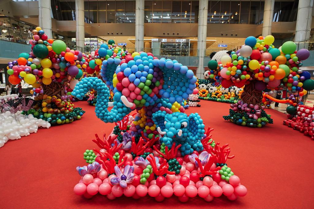 The Marina Square Balloon Exhibition unveils an Unforgettable Zoo Experience today - Alvinology