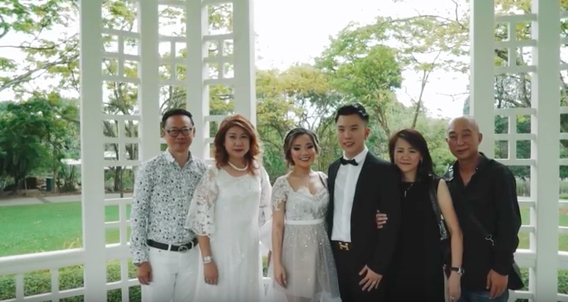 Naomi Neo wedding video details on her gown, her parents, her in-laws and her husband are all here - Alvinology