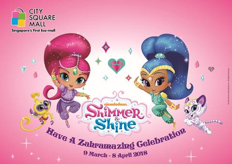 Have a Zahramazing Celebration at City Square Mall with Shimmer and Shine