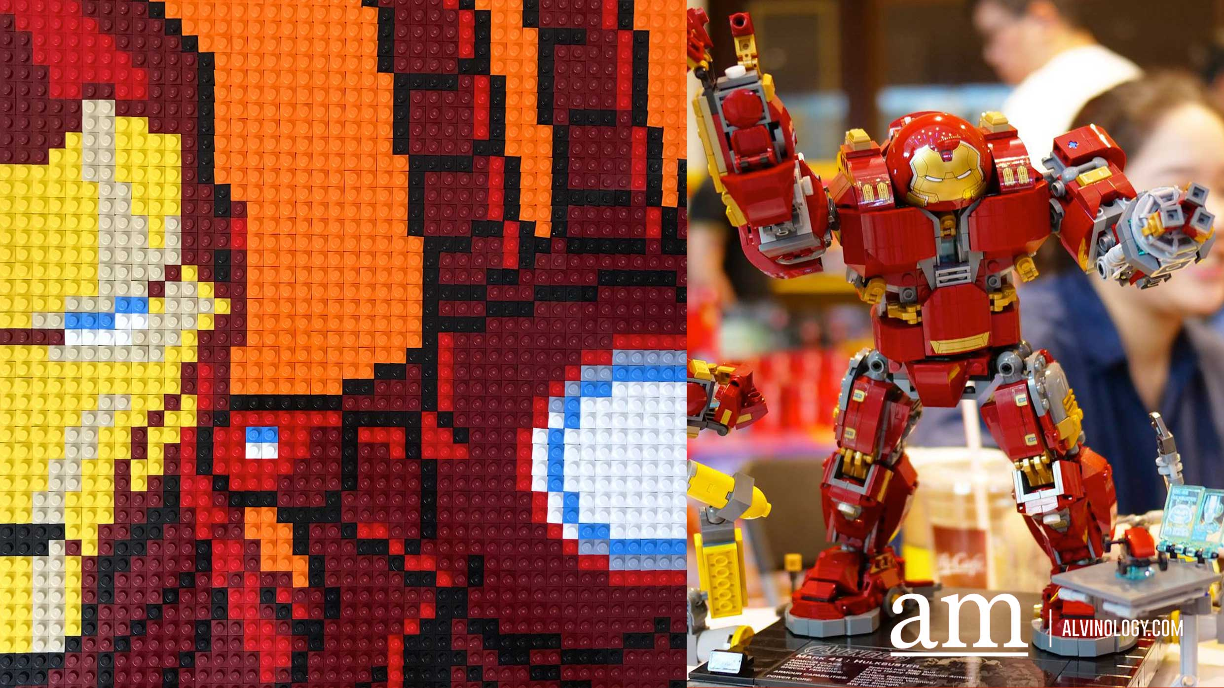 How to get all the LEGO Avengers Infinity War sets, including the exclusive LEGO Marvel Iron Man Mosaic in Singapore - Alvinology
