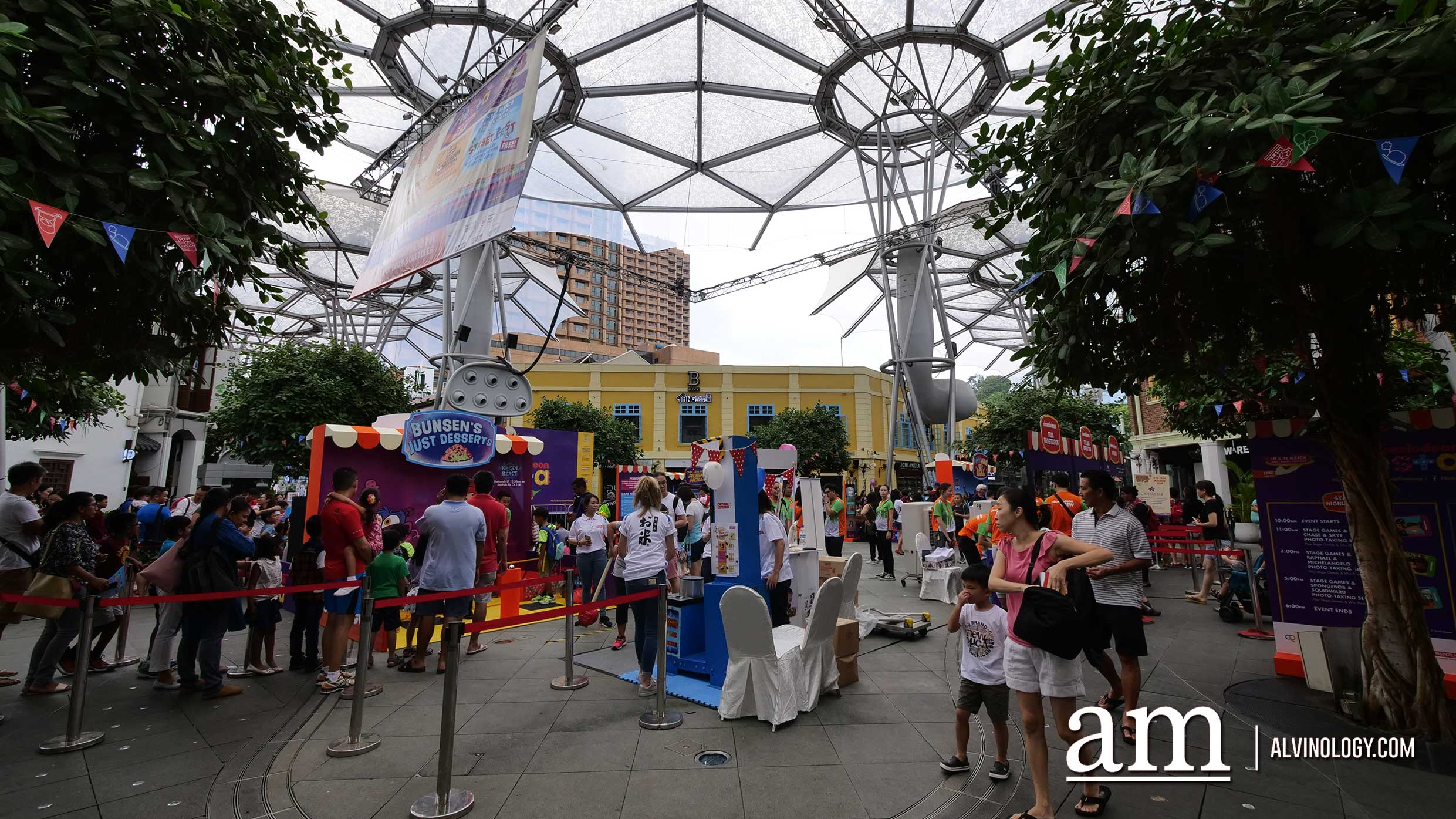 School's out and Nickelodeon Fiesta at Clarke Quay is back for 2018! - Alvinology