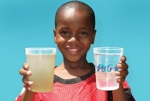 Watch how National Geographic partners with P&G to get clean water to people who need it the most