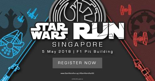 Why Star Wars fans HAVE to be at the Star Wars Run 2018! - Alvinology