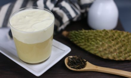You can enjoy world's First D24 Premium Durian Jasmine Tea at Hi Tea Northpoint