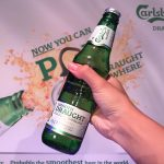 'POP' the new Carlsberg Smooth Draught Pint anywhere, anytime