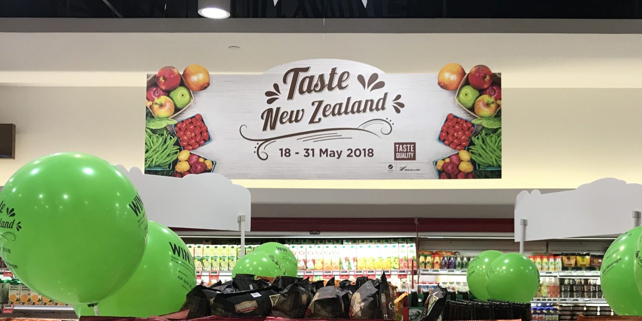 Get a taste of New Zealand at Cold Storage!