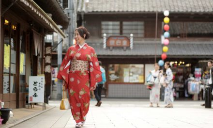 "Take a stroll in Kimono and experience a traditional festival at ""Little Edo, Kawagoe"""