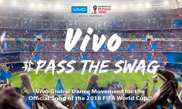 Vivo launches global dance movement #PassTheSwag for the 2018 FIFA World Cup