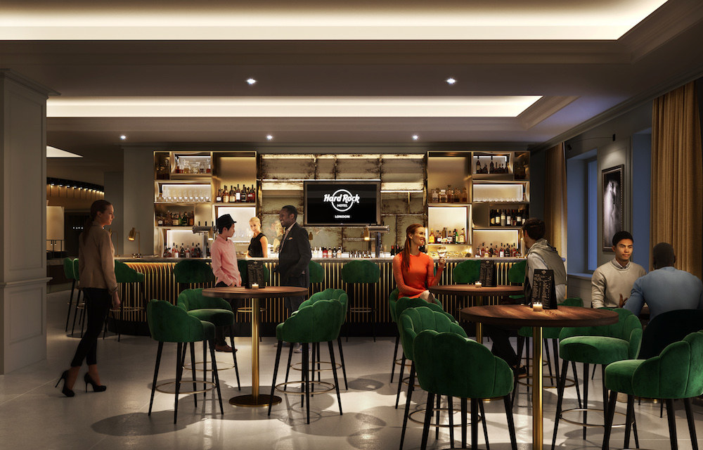 Hard Rock Hotel London is set to launch in 2019 and here's a first look inside! - Alvinology