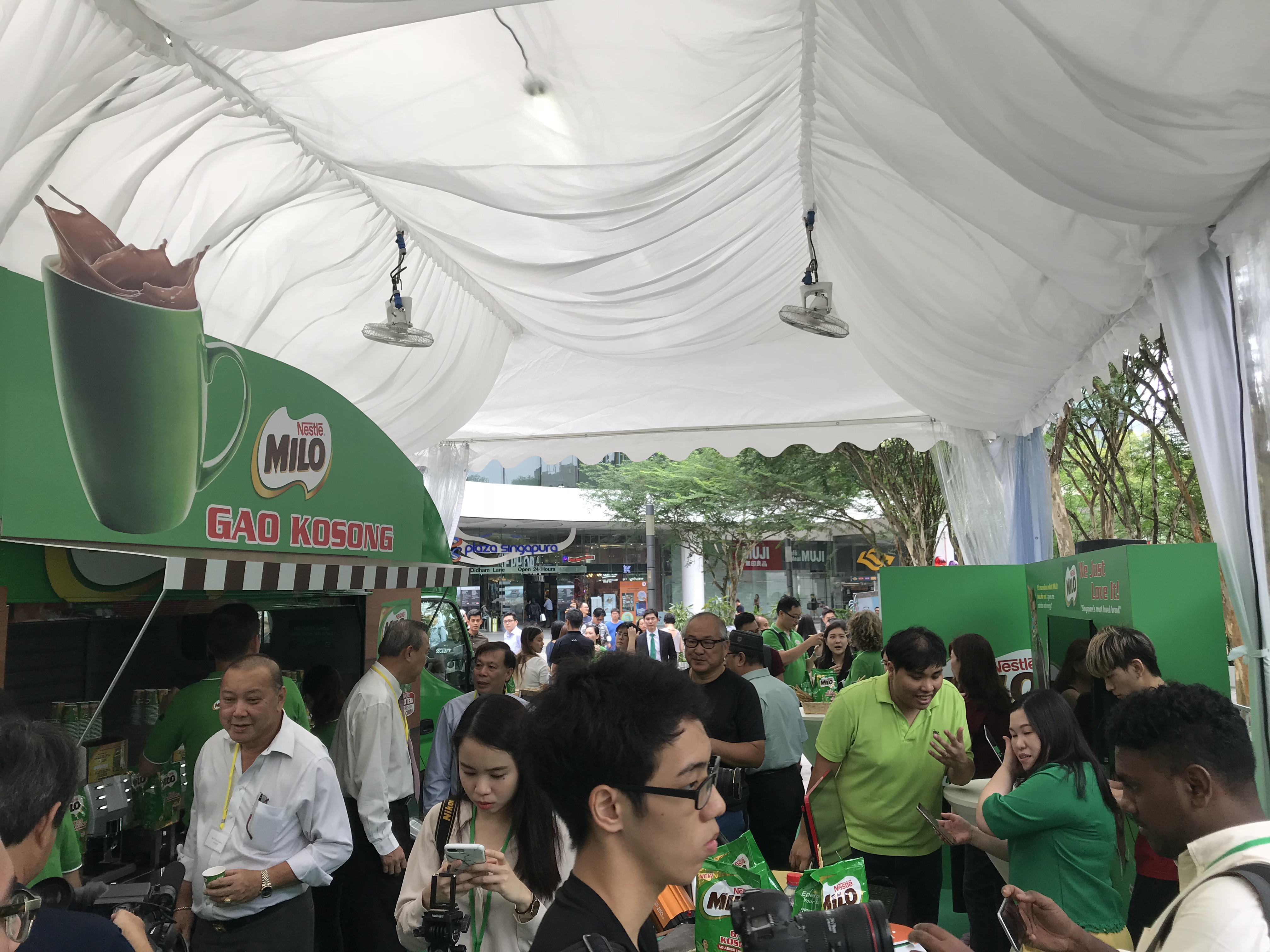 Milo Gao Kosong officially launches in Singapore! - Alvinology