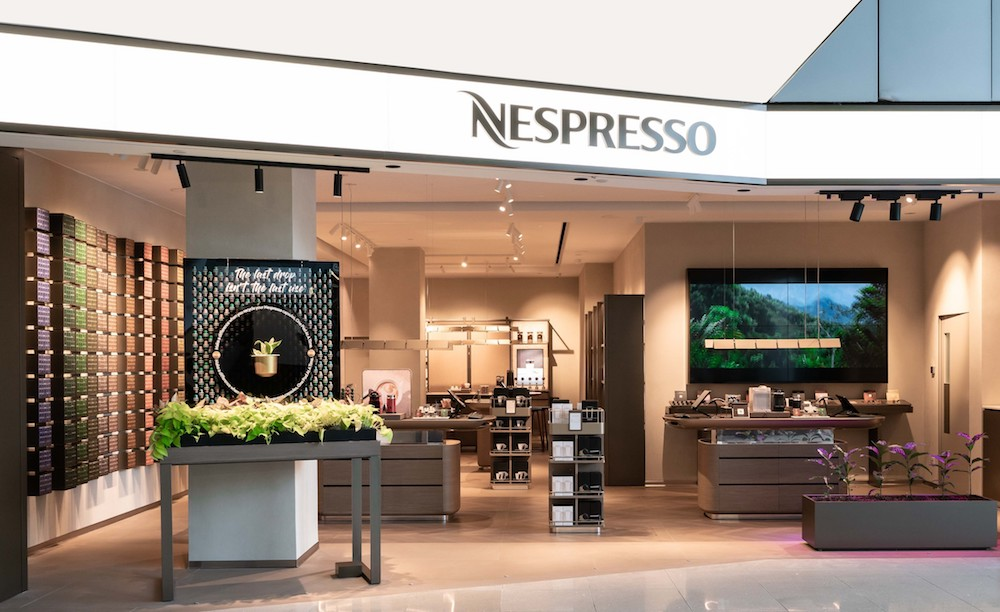 Nespresso has opened an its fourth boutique with a unique concept at VivoCity! - Alvinology