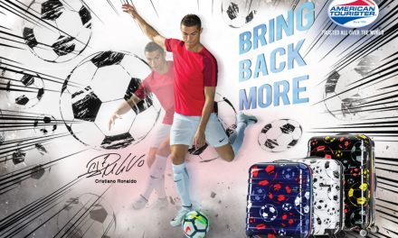 Traveling this World Cup? Grab a American Tourister's Soccer themed luggage along!