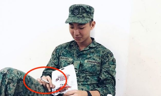 Did Darel Aiden Yow's brother, Craven Yow, post SAF training photos on Instagram and admit his brother made a mistake?