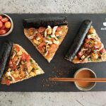 Sushi Poké Pizza exclusively available on Deliveroo from June 16-18!
