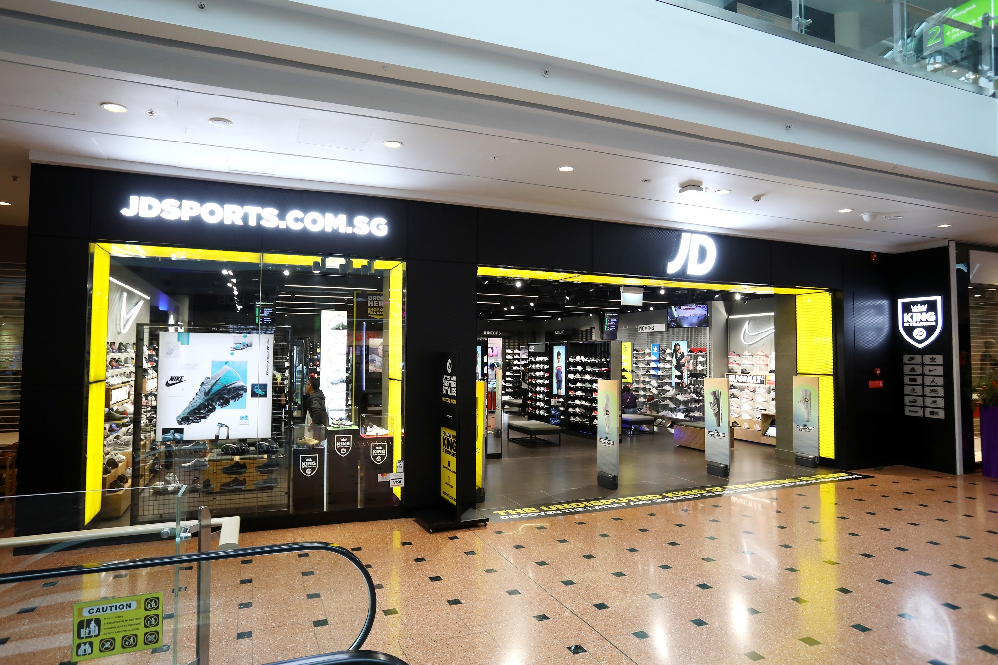JD Sets Foot In Singapore With Its First 'Undisputed King of Trainers' Store at Jurong Point - Alvinology