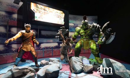 Marvel Studios: Ten Years of Heroes exhibition @ Artscience Museum, Marina Bay Sands