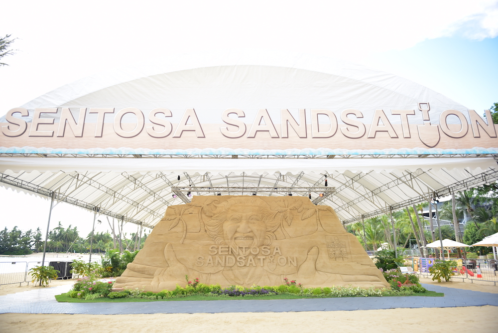 Sentosa Sandsation returns this year with a brand new MARVEL Edition! - Alvinology