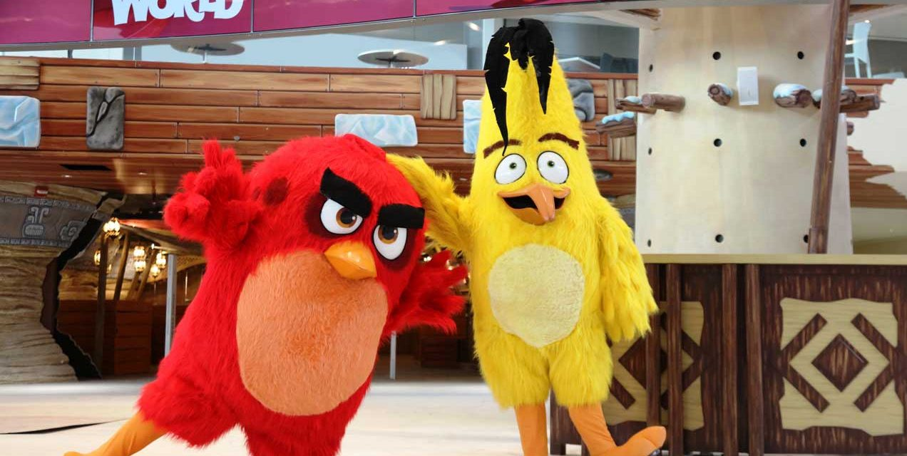 World's first Angry Birds World Entertainment Park opens in Qatar!