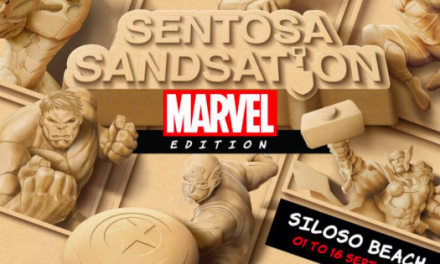 Sentosa Sandsation returns this year with a brand new MARVEL Edition!
