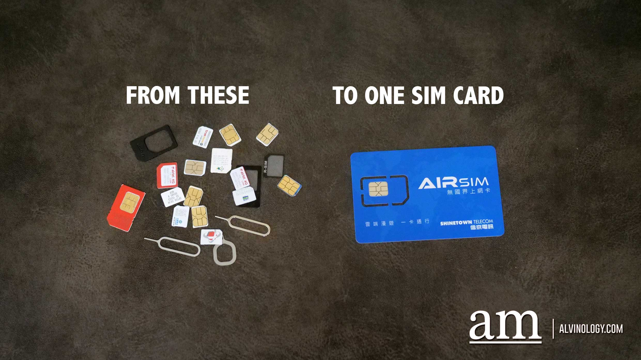 Enjoy data service in over 100 countries with just one SIM card from AIRSIM - here's how - Alvinology