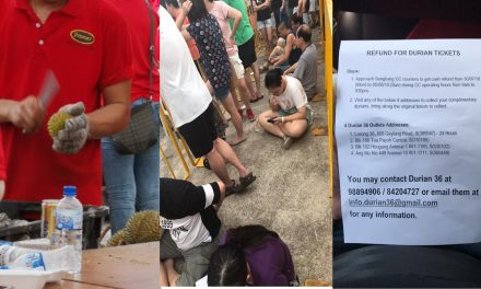 Durian festival disaster: 4-hour queues to get tiny durian or none at all for $5