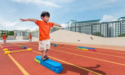 Enrol Your Child In NTUC First Campus's My First Skool For a Valuable Outdoor Play and Learn Experience
