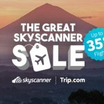 Great Skyscanner Sale offers savings of up to 35% on flights to almost 100 destinations
