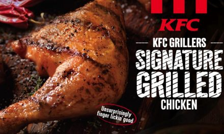 New KFC healthy menu with grilled chicken and mesclun salad starting Aug 1