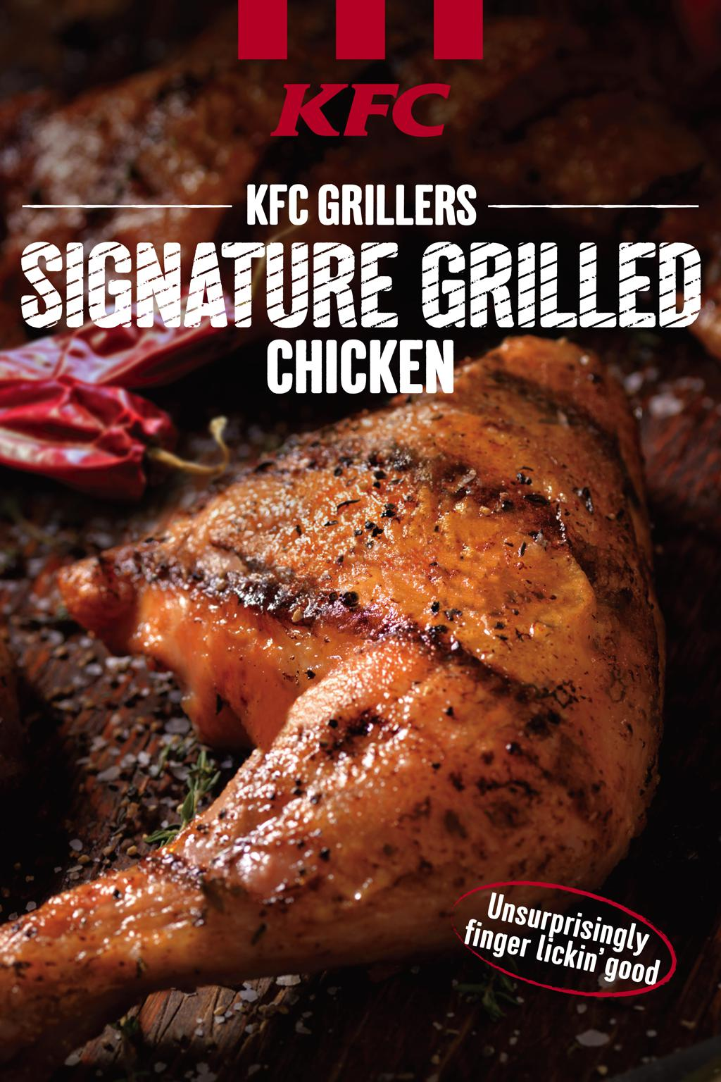 New KFC healthy menu with grilled chicken and mesclun salad starting Aug 1 - Alvinology